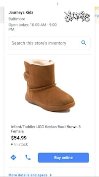 pair of brown UGG boots screenshot Nottingham, 21236