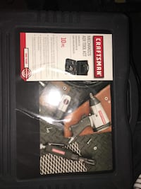 black and gray Craftsman power tool box Washington, 20024