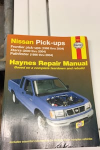 Haines manual for Nissan pick up trucks Alexandria, 22303