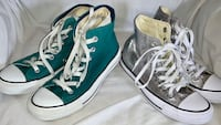 2 Pair Converse High-Tops Women's Size 7 Hartford, 06117