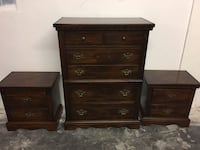 Tallboy dresser with matching end tables  Hollywood, 33020