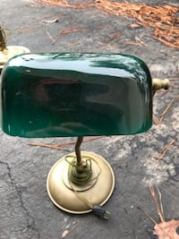 Green and brown table lamp Midlothian, 23112