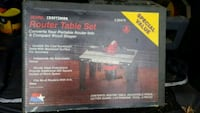 Craftsman Router Table Set Island Heights, 08732
