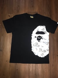 Bape space camo ape tee Centre Wellington, N1M 2Y2