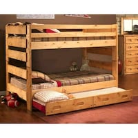 Full size BUNK BED solid wood CAN DELIVER! Sheridan, 80110