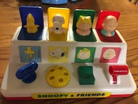 Snoopy and friends pop up toy  Niagara Falls, L2H 2N5