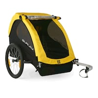 yellow and black bicycle trailer 905 mi