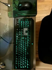 black and green computer keyboard with mouse Kenosha, 53140