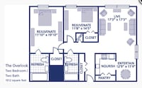 APT For rent 2BR 2BA Towson, 21286