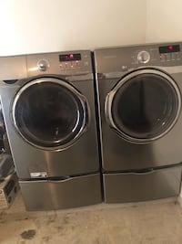 two gray front load clothes washers La Feria, 78559