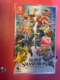 New in Plastic Super Smash Brothers Ultimate Nintendo Switxh Calgary, T3L 2V6