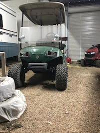 Yamaha golf cart has lift kit and mud tires doesn't run anymore. I think the switch under the peddle is bad Sweeny, 77480
