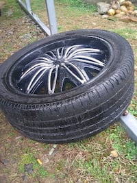 20 inch rims and tires 245/45 zr20 Cumberland City, 37050