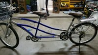 blue and gray bicycle frame Bakersfield, 93314