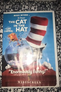 The cat in the hat DVD Hull, J8X