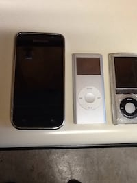 Two Apple IPod's and one Samsung MP3 Player today special Gaithersburg, 20877