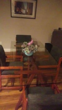 brown wooden table with chairs Eugene, 97404