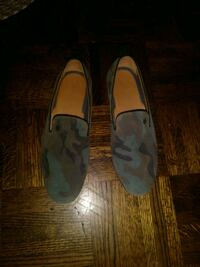 Men's camouflage loafers
