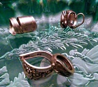 Handcrafted silverspoon rings Gassaway, 26624