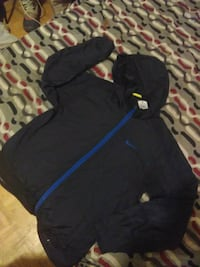 black and blue zip-up hoodie Toronto, M1L 3E8