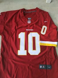 red and white NFL jersey Middletown, 21769