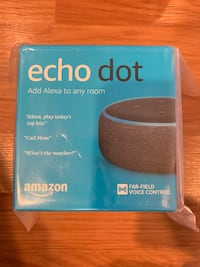 Amazon echodot 3 Edison, 08817