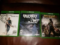 XBOX ONE Games Quantum Break, Call of Duty Ghost Pinellas Park, 33782