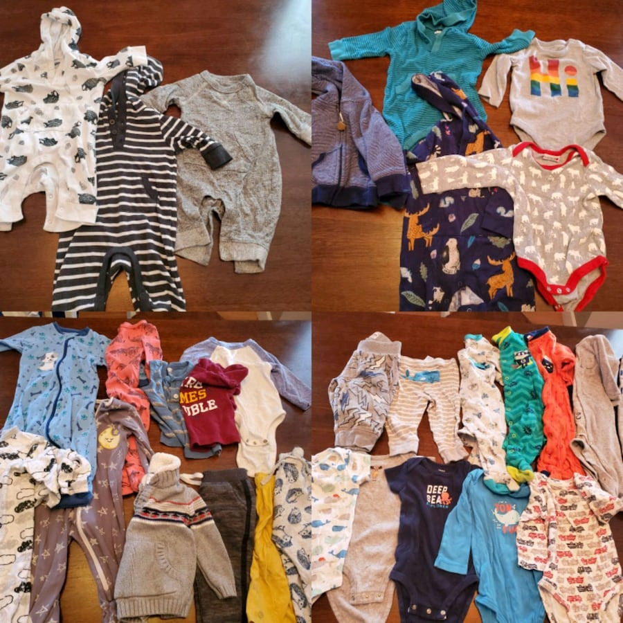 boys clothing 0-3, 3-6, 6 months 9 months