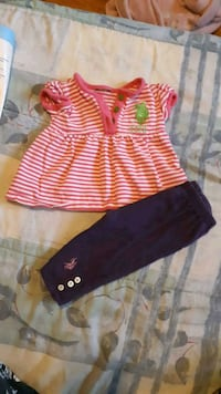 Raulph Lauren. Outfit size 0-3 months Whitby, L1N 3C7
