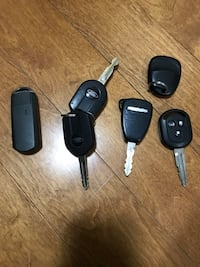 Key fobs and remote start fobs