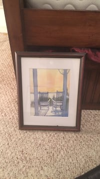 Beachfront print framed Fredericksburg, 22405