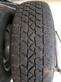 Winter tires with rims  Pickering