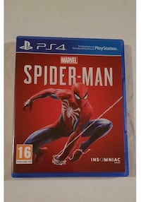 Ps4 spel spiderman  6643 km
