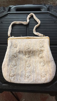 vintage glass beaded purse Good condition for the age Sebring, 33870