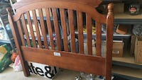 Full size bed frame w/footboard
