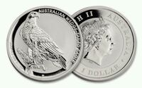 Wedge tailed eagle silver 1 oz 2016 .999 argent Montreal, H3W 1Y1
