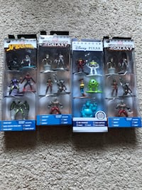 Marvel nano metalfigs (Spider-Man, toy story, guardians of the galaxy