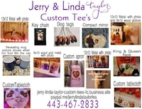 Personalized party favors Baltimore