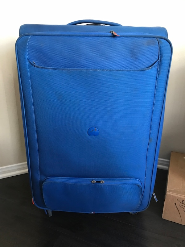 6e7062f79ba4 Used Blue suitcase by Delsey for sale in Los Angeles - letgo
