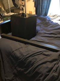 Samsung sound bar and sub with remote, used about 3 time Stafford, 22556