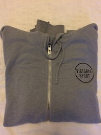 gray and black zip-up hoodie Mississauga, L5E 2G8