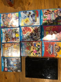 Wii U with various games 220 mi