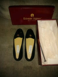 Etienne Aigner leather shoes 651 mi