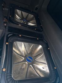 "15""L7 speaker and vented box"