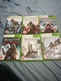Assassin's Creed 1-4 (Xbox 360) Caerphilly, CF83 1DX