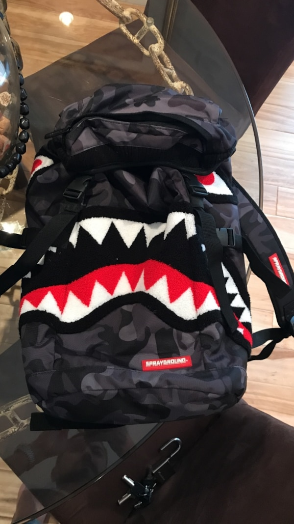 Bape Shark Backpack >> Used Bape Shark Backpack For Sale In Fort Lauderdale Letgo