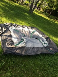 Quest 7x7 dome camping tent without any poles