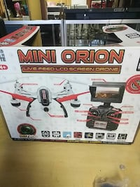 Mini Orion live  feed LCD Screen Drone
