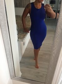 M boutique royal blue dress medium Toronto, M1P 5C4