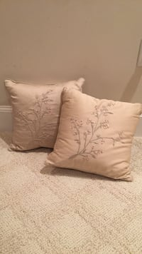 Taupe/champagne colored pillows Lexington, 02420